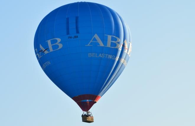 Ten huwelijk gevraagd tijdens een ballonvaart!